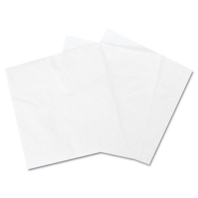 "Boardwalk 1/4-Fold Lunch Napkins, 1-Ply, 12"" X 12"", White, 6000/carton 8310 NEW"