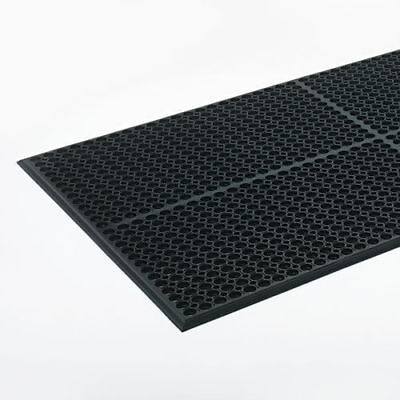 Crown Mats Safewalk Light Economical Drainage Safety Mat WSCT35BK New