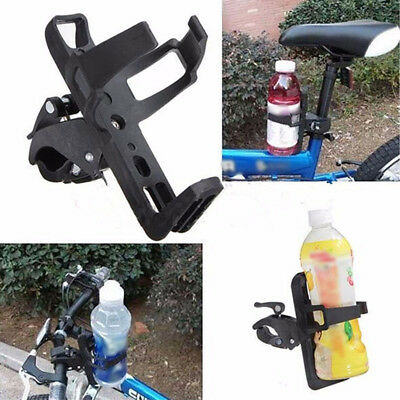 Motorcycle Cycling Bicycle Handlebar Drink Water Bottle Cup Holder Mount Cage
