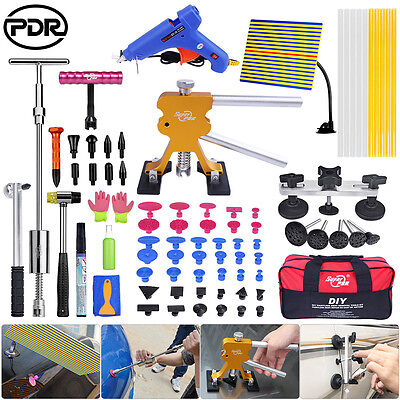 Top PDR 80x Paintless Dent Repair Removal Dent Lifter Slide Hammer Puller Tools