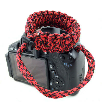 Wrist Strap Outdoor Emergency Survival Camera Hand Grip for SLR Canon Nikon Sony