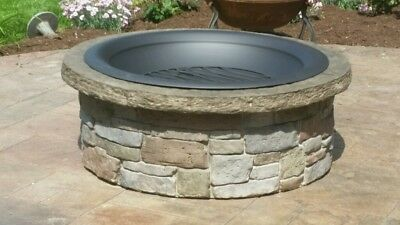 """Concrete Fire Pit & Seat Wall Form Liner - Tightstack Stone 13"""" x 6' Walttools"""