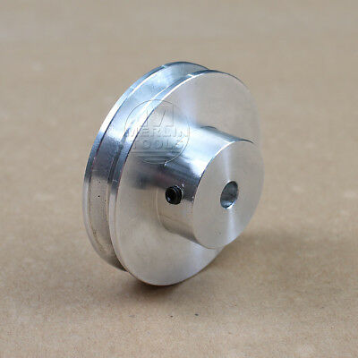 50mm Outer Diameter - V-Groove Step Pulley - 5 to 15mm Bore - Select Size