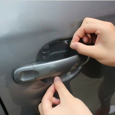 4 Pcs Invisible Car Door Handle Scratches Protective Protector Films Universal