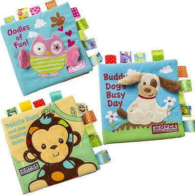 Newest Soft Cloth Book Baby Toy Early Learning Education Animals Book Infant Toy