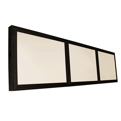Lighted Menu Board - 3 Frame