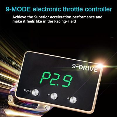 9 Mode Electronic Throttle Controller Wind Booster 6mm Extreme Thin For BMW