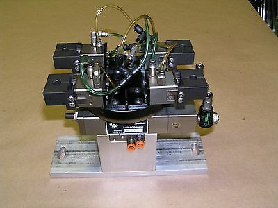 Robohand Rr-36-180Sm Rotary Actuator With (4) Grippers And Mount Excellent!!