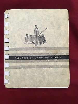 Vintage Photo Album for Polaroid Land 16 Prints Very Unique 1950s-Early 60s