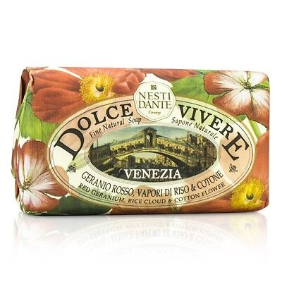 Nesti Dante Dolce - Venezia - Red Geranium, Rice Cloud & Cotton Flower 250g Bath