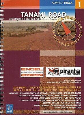 Tanami Road Track Guide *FREE SHIPPING - NEW*