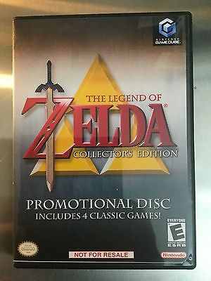 Replacement Case (NO GAME) Legend Of Zelda Collector's Edition Nintendo Gamecube