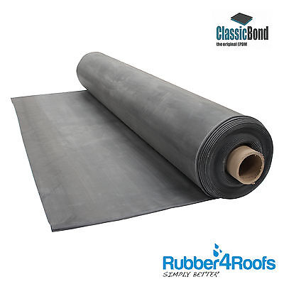 Premium EPDM Rubber Roofing Membrane for Flat Roofs, 1.5mm ClassicBond sheets
