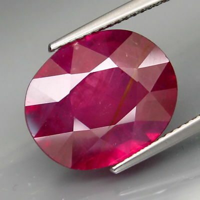 8.43 CTS EXCELENTE.RUBI ROSA NATURAL - BIG Top pink Ruby Mozambique