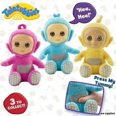 Teletubbies Giggling Tiddlytubbies Soft Plush Toys - Ping, Mi-Mi or Umby Plumby