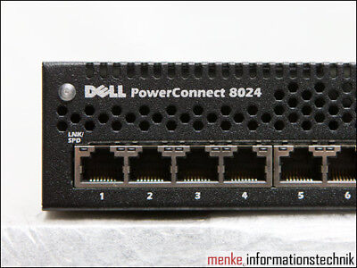 Dell PowerConnect 8024 24x 10GbE Ethernet + 4x 10GbE SFP+ Switch D162M / 0D162M