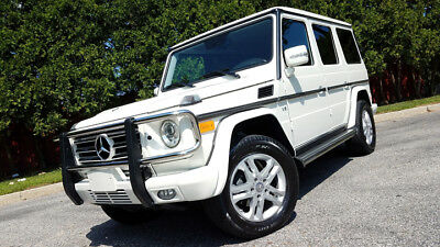 2011 Mercedes-Benz G-Class 4MATIC 2011 Mercedes-Benz G550 4MATIC in rare ARCTIC WHITE, 34k Miles, V8, 7-speed Auto