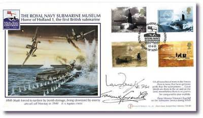 Buckingham Covers Submarine Museum FDC Signed