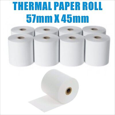 Premium Thermal Paper 57x45mm Cash Register Receipt Rolls EFTPOS 57mm
