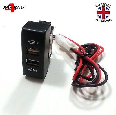 Recessed Outlet Double/Dual USB Charger for Truck Mercedes Actros MP3 12/24V