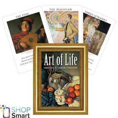 Art Of Life Tarot Deck Cards Esoteric Telling Us Games Systems Usa New