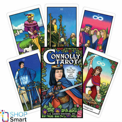Connolly Tarot Cards Deck Esoteric Telling Astrology Artwork New