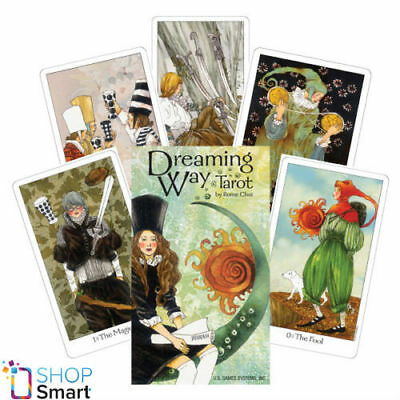 Dreaming Way Tarot Cards Deck Rome Choi Esoteric Telling Astrology New