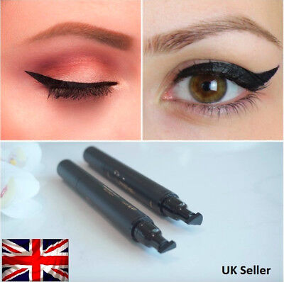 Winged EyeLiner Stamp - Thick and Thin - Perfect Wing Vamp Flick Stamp