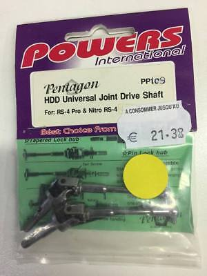 Powers HDD Universal Joint Drive Shaft (RS-4 Pro / Nitro RS-4)