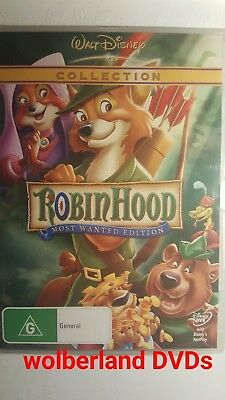 Robin Hood [ DVD ] BRAND NEW & FACTORY SEALED, Region 4, FREE Next Day Post