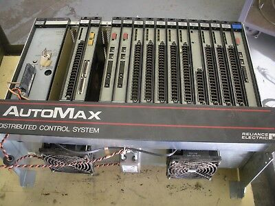 Reliance Electric Automax Distributed Control System , 57C331 , with 14 cards