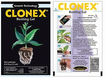 CLONEX Rooting Hormone Gel 50ml/ single/box 12/ box 96