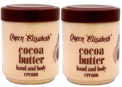 Queen Elisabeth Cocoa Butter Hand & Body Cream 500 ml 2X