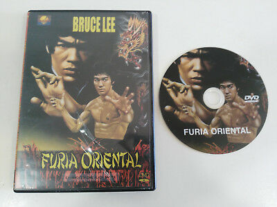 Bruce Lee Furia Oriental Fist Of Fury Dvd Wei Lo Region 0 All