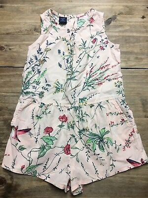 Baby Gap Girls Floral Cotton Jumper 4 years size 4