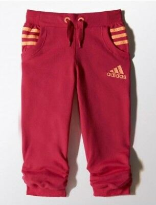 Junior Girls Kids Infant Adidas 3/4 Pants Age 2 - 6