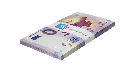 Zero (0) Euro Europe X 50 PCS, 2017, UNC,Musee De L'Air Et De L'Espace in France