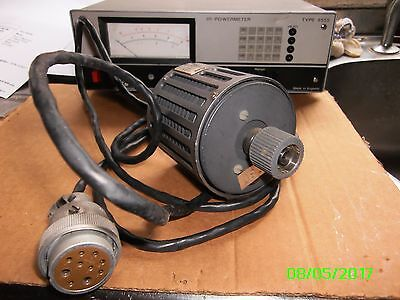 Marconi powermeter TF6555 with sensor 6423  12.4 GHz 0.3 mW to 3 Watt
