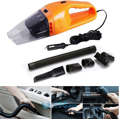 12V Vacuum Cleaner For Car Dry/Wet Suction Vac Handheld Hand Portable Duster USA