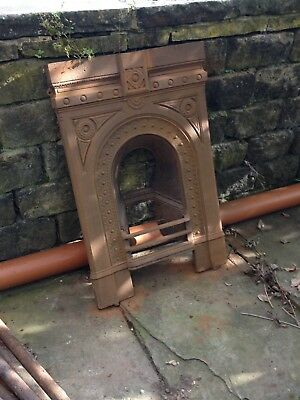 Cast Iron Fireplace In Need Of Restoration