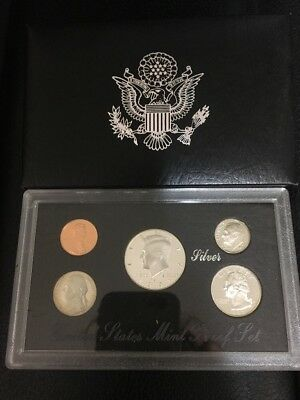 1997 S United States Mint Silver Proof Set