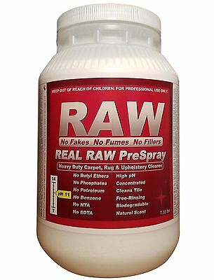 REAL RAW Carpet Cleaning PreSpray, Heavy Duty Powder Pre-Spray Detergent