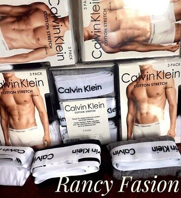 SPECIAL EDITION MEN'S CALVIN KLEIN  BOXER SHORTS TRUNKS LOW RISE 3 of  pack.