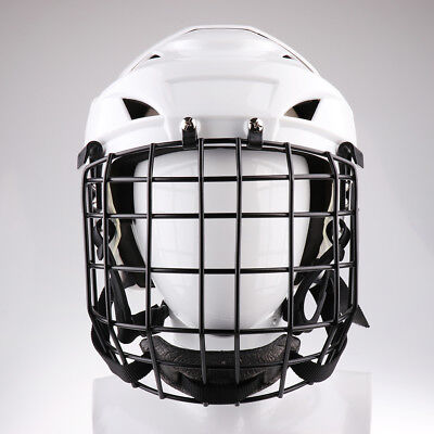Pro Adjustable Ice Hockey Helmet with Face Shield for Men & Women - M