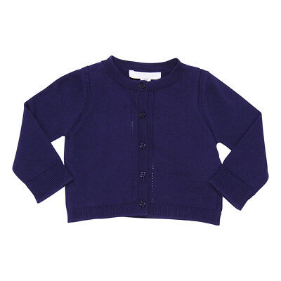 Burberry Cardigan blu navy in cotone