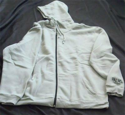 Palms Casino Las Vegas New Unisex  Hoodie Sweatshirt Jacket Grey Gray Sz X-Large