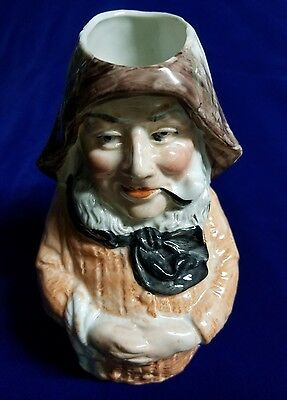 Antique Toby Sailor with Pipe #5059 German made Signed DePare & marked Ges Gesch