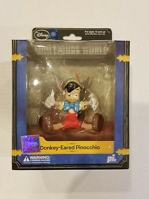 "DISNEY DONKEY-EARED PINOCCHIO MINI FIGURE WORLD 4"" FIGURINE Play Imaginative NEW"