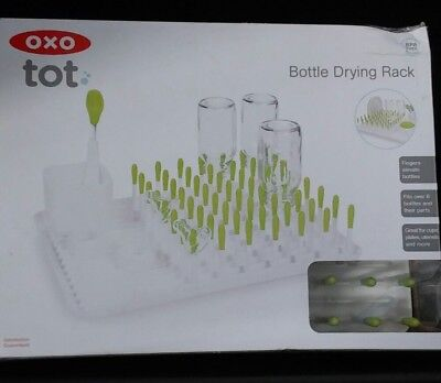 OXO Tot Bottle and Accessories Drying Rack- Green