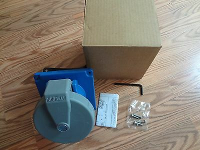 BRAND NEW HUBBELL WIRING DEVICE-KELLEMS HBL5100R9W Receptacle, 4P, 5W